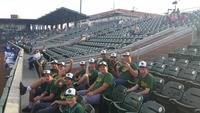 Night out for the Jayhawks varsity baseball team